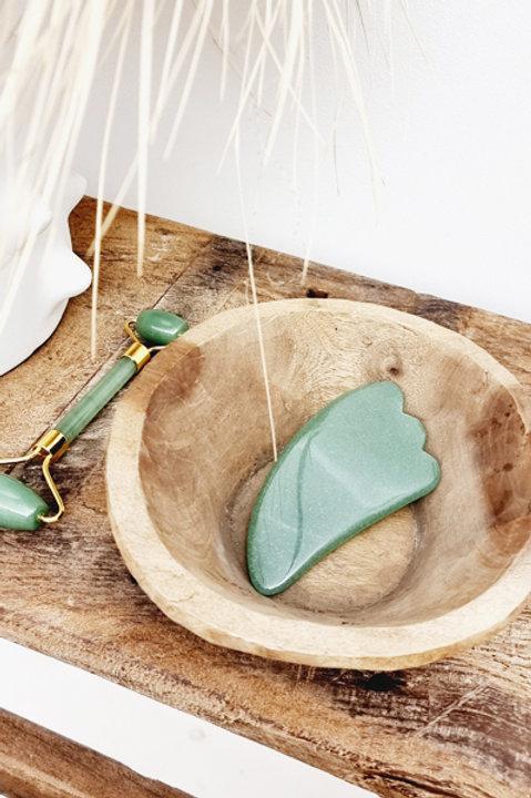 Gua Sha Fender - Jade Green