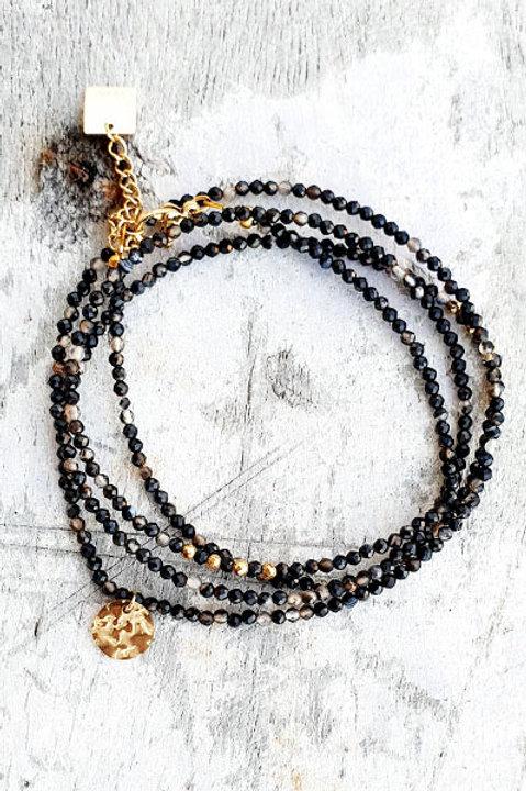 Bracelet Multi Tour - Onyx - N.5