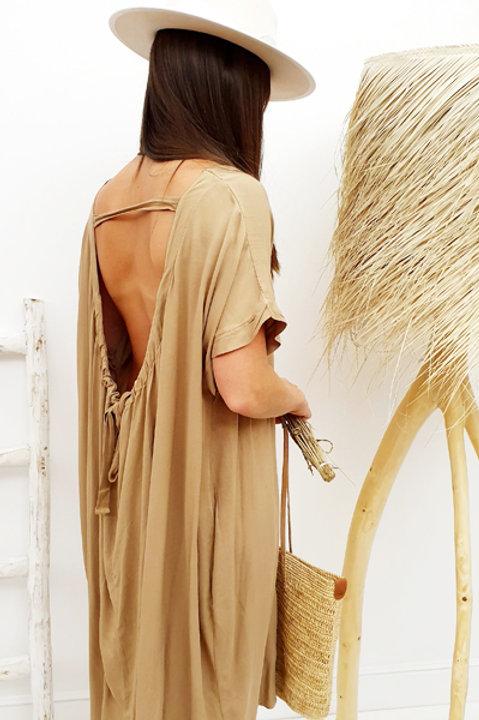Robe Dos Nu - Camel