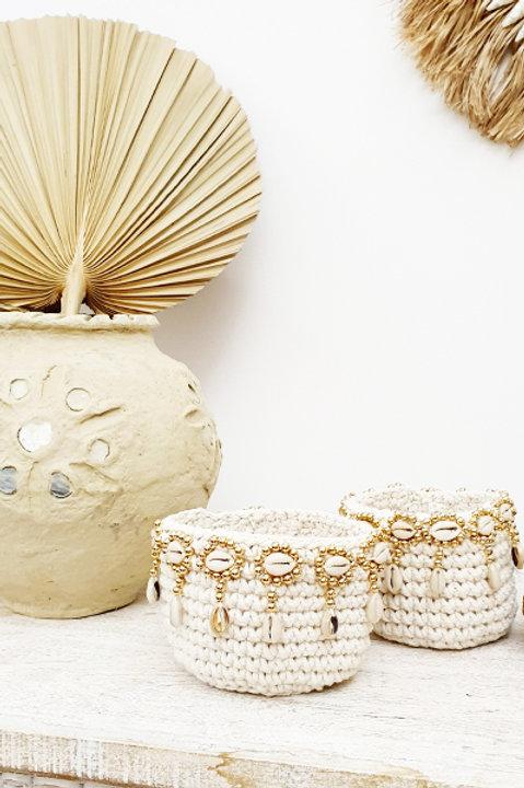 Perles et Coquillage - Gold