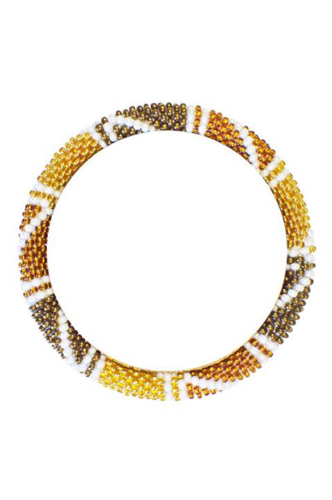 Bracelet Perles de Verre du Nepal - 046