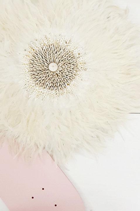 Juju Hat Coquillage - L - White