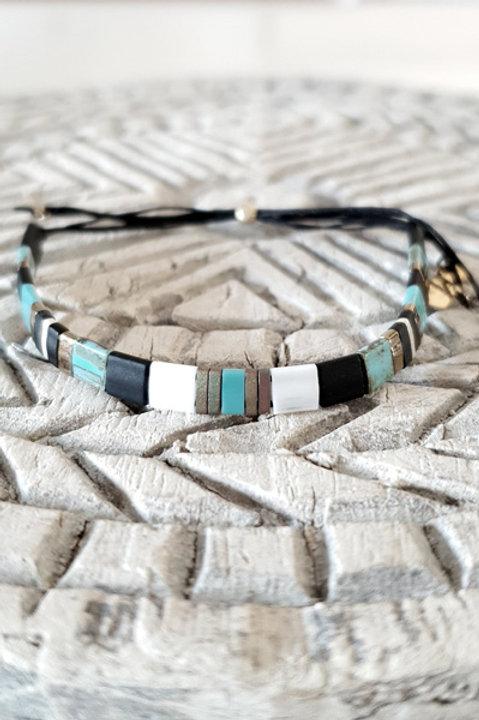 Bracelet Perles de Verre Japonaises - N3