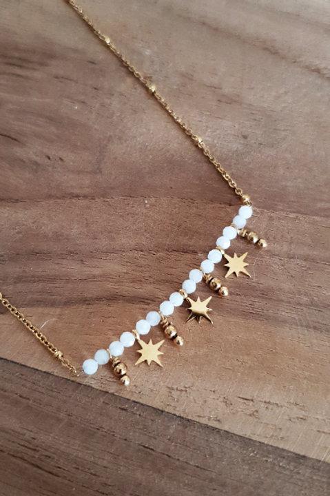Collier Ras de Cou Summer N.5 - White Gold