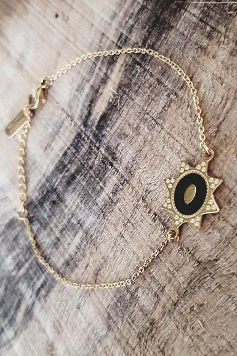 Bracelet Etoile Noire