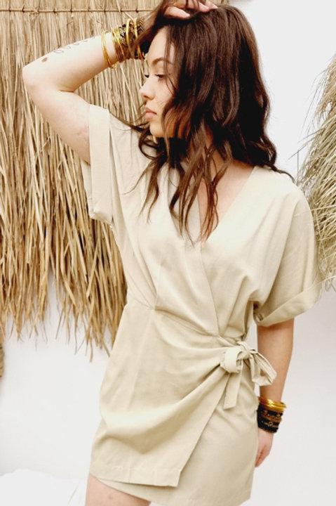 Robe Aphrodite Sand