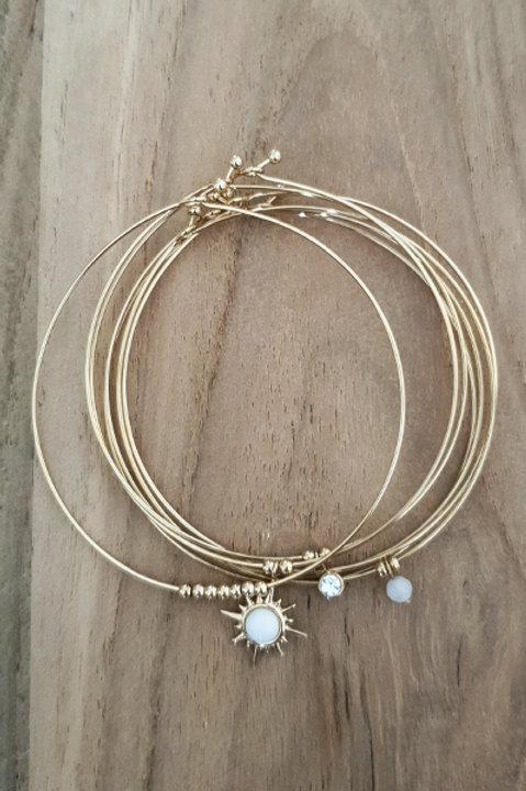 Semainier Perles Sun - White