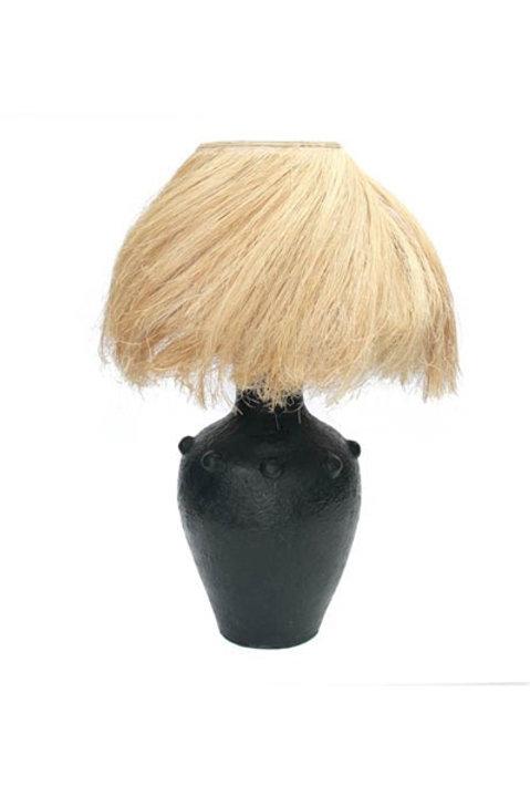 Lampe à Poser Abaca Black