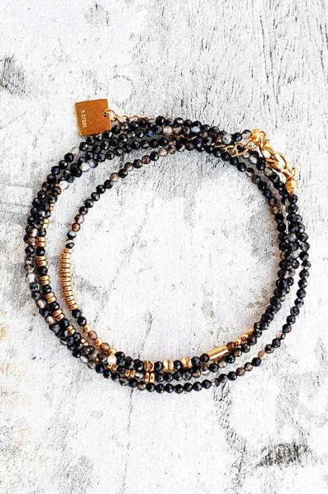 Bracelet Multi Tour - Onyx - N.6
