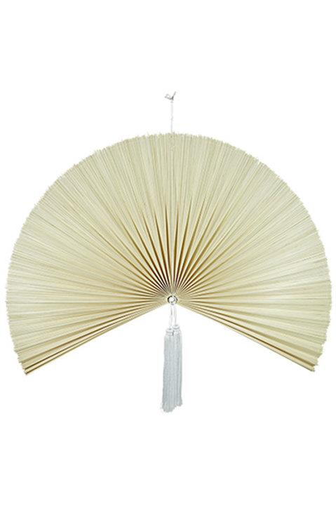 Eventail Bambou Tissé - GM - Naturel