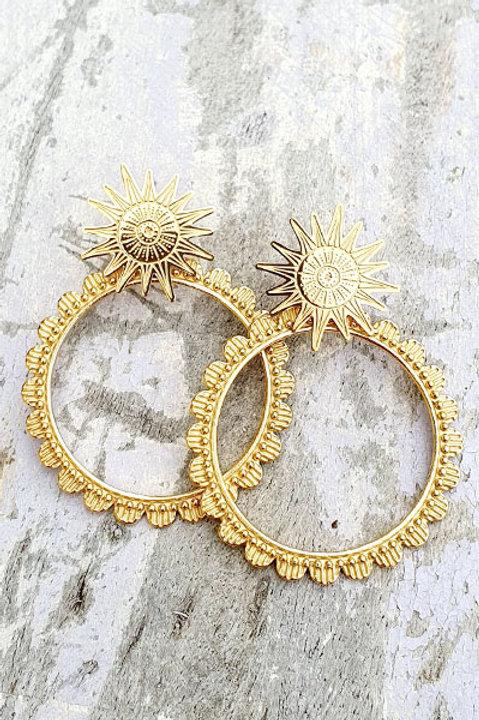 Boucle d'Oreille - Gold