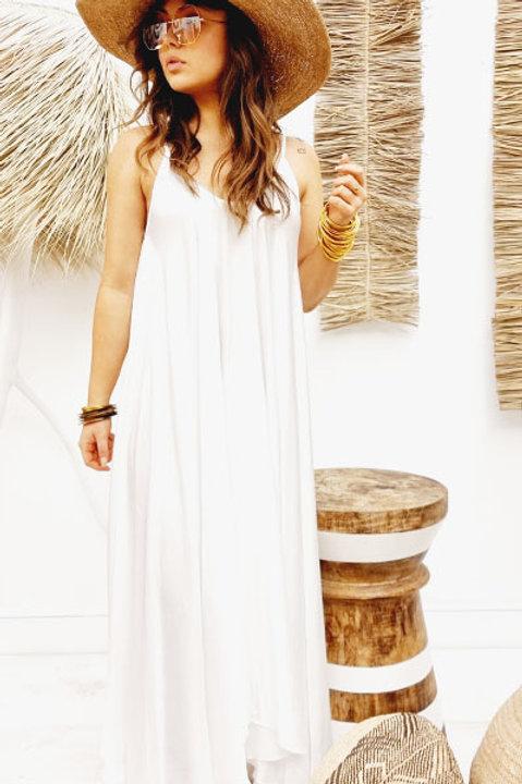 Robe Elizabeth - Blanc