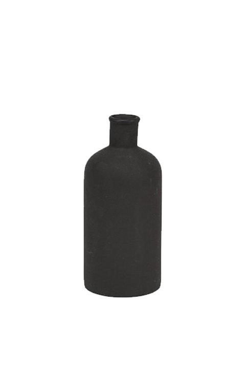 Petit Vase Noir Mat