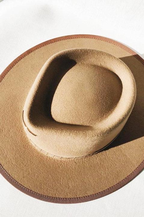Chapeau Feutre de laine Sand - Fabrication Francaise