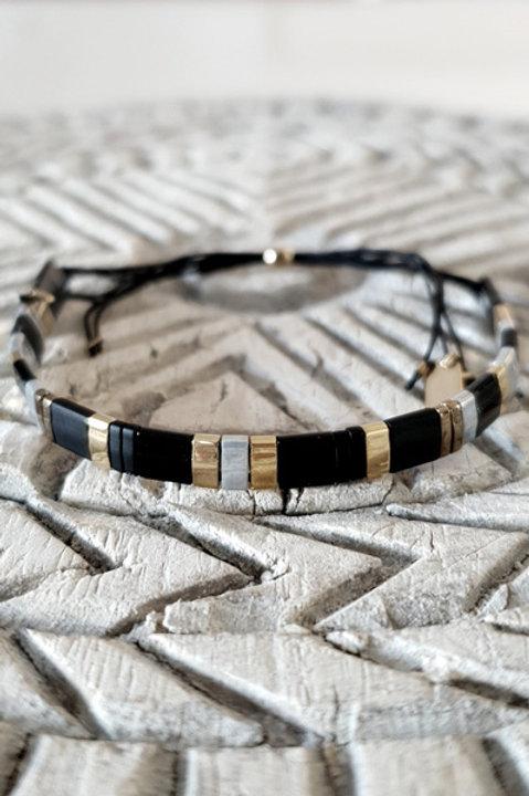 Bracelet Perles de Verre Japonaises - N5