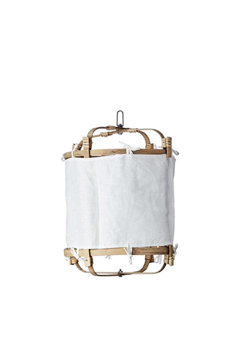 Lanterne Bambou Lin - White - S