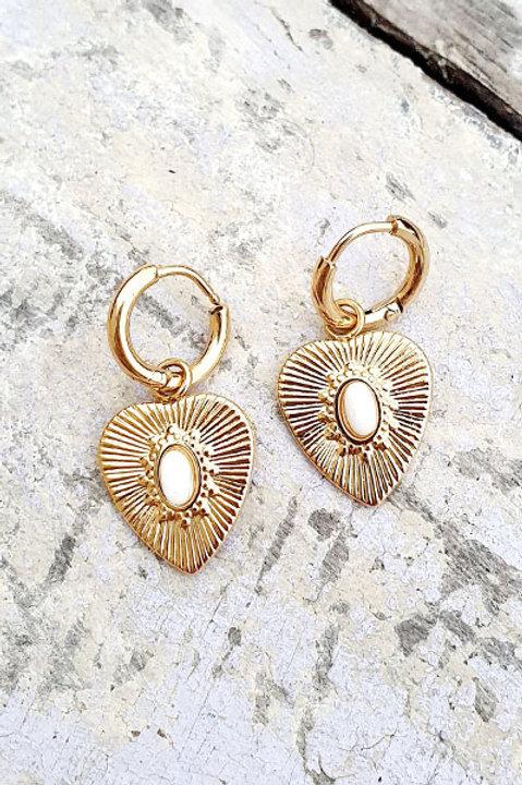 Mini BO Heart - Gold