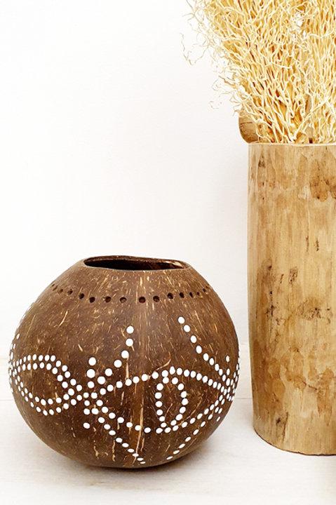Photophore Coconut Bali - Brown