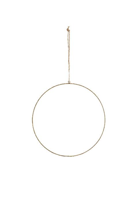 Suspension Cercle Métal - 20cm