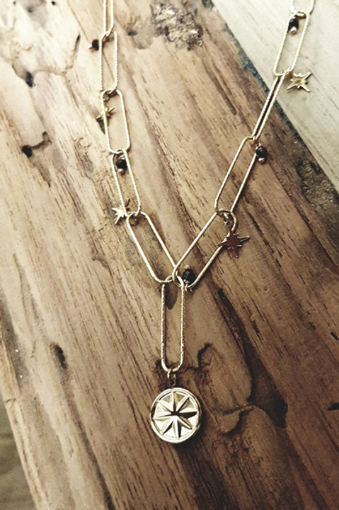 Collier Chainette Pampille Constellation