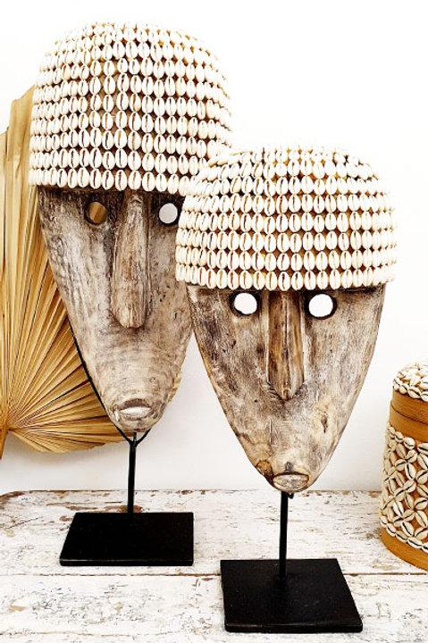Masque Timor Coquillage