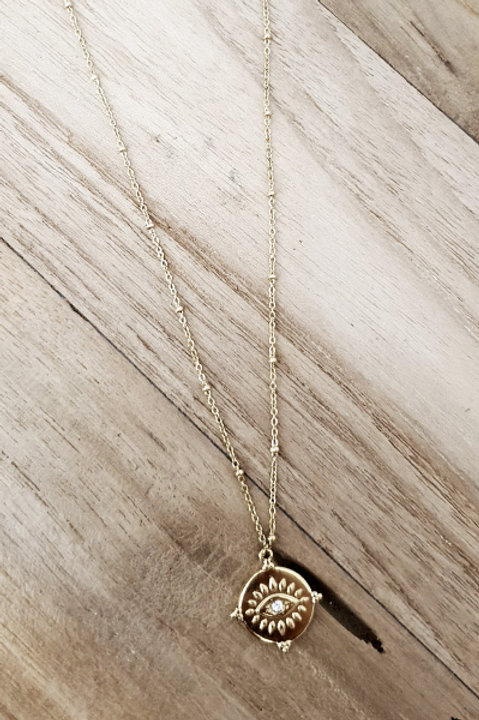 Collier Eye Gold