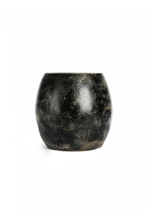 Vase Céramique Noir - MM