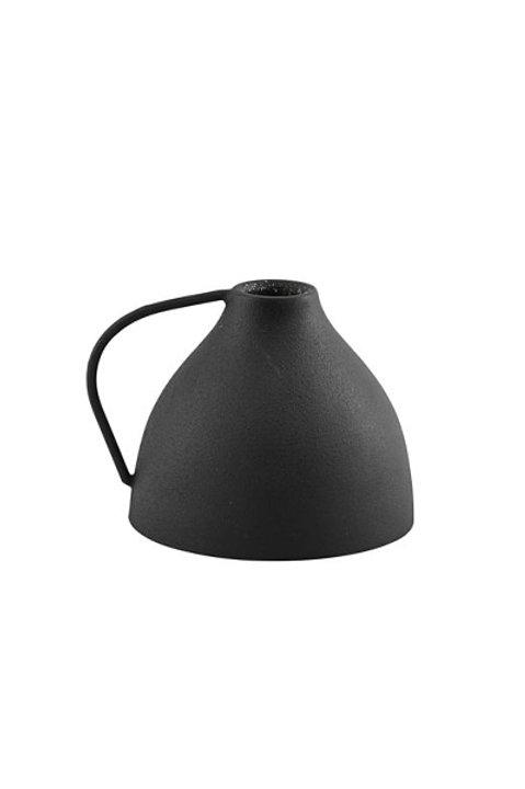 Bougeoir Métal Noir