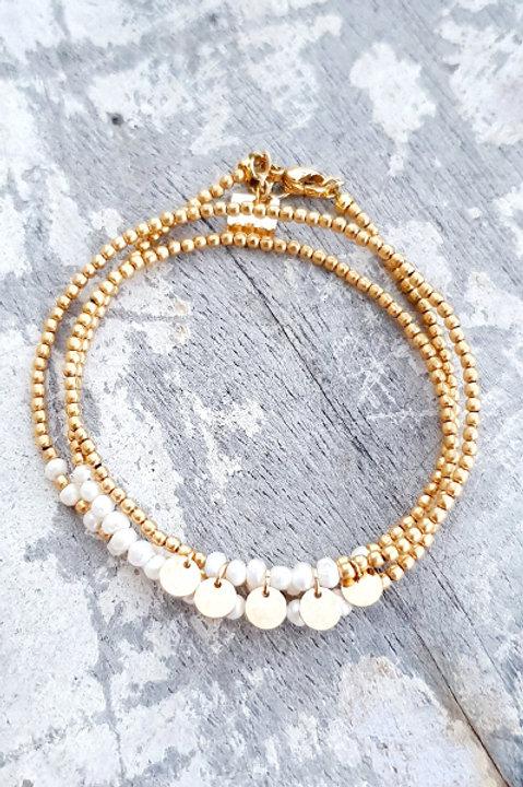 Bracelet Multi Tour - Perles de Culture - N.3