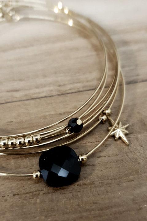 Semainier Perles - Noir