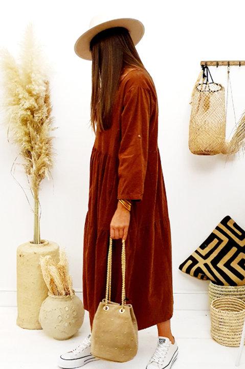 Robe Longue Velours