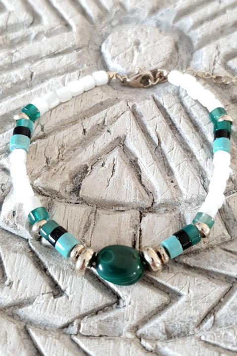 Bracelet Perles de Verre - N2