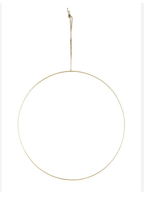 Suspension Cercle Métal - 40cm