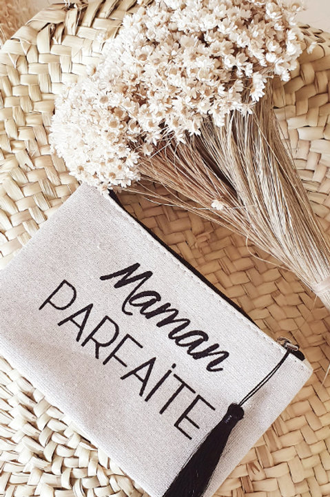 Petite Pochette Maman Parfaite - Black