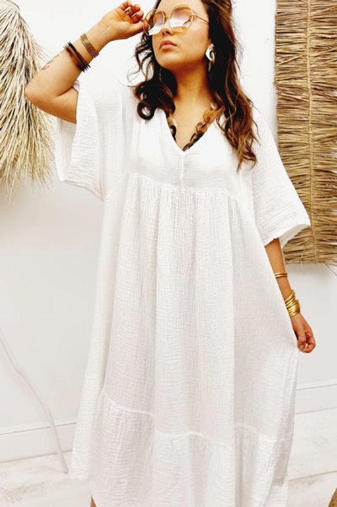 Robe Victoria Gaze de Coton