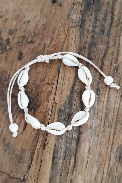 Bracelet de Cheville Coquillage Naturel