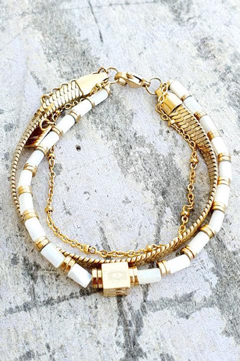 Bracelet Trio - Gold - N.3