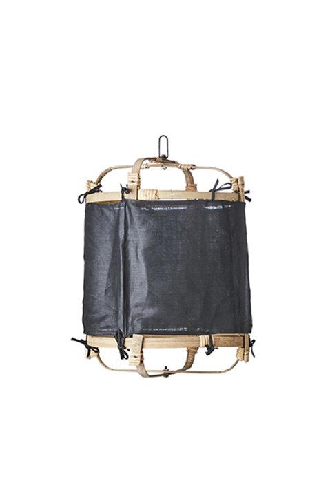 Lanterne Bambou Lin - Black - S