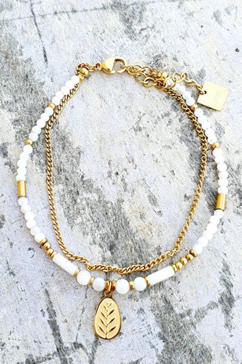 Bracelet - Agathe Blanche - N.2