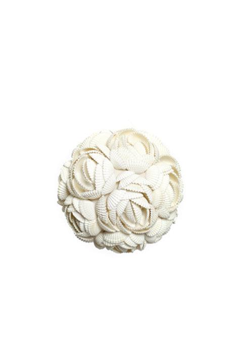 Boule Coquillage Rose Blanche Petit Modèle