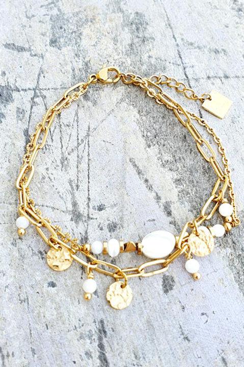 Bracelet - Agathe Blanche - N.5