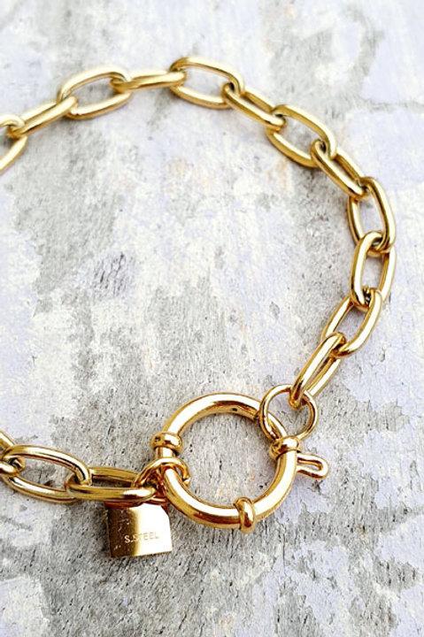 Bracelet Chainette Gold