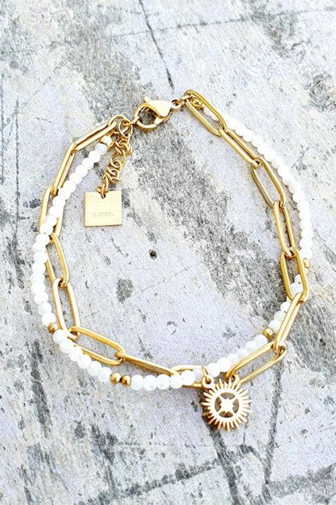 Bracelet - Agathe Blanche - N.6