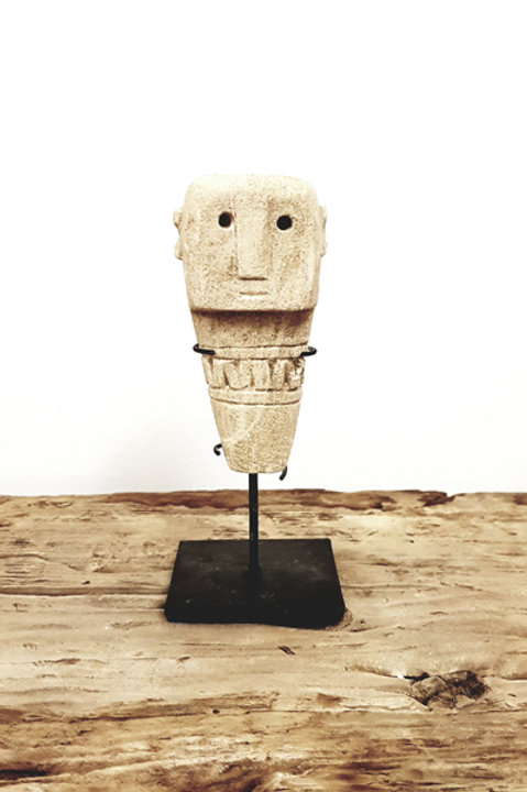 Statue Sumba Socle