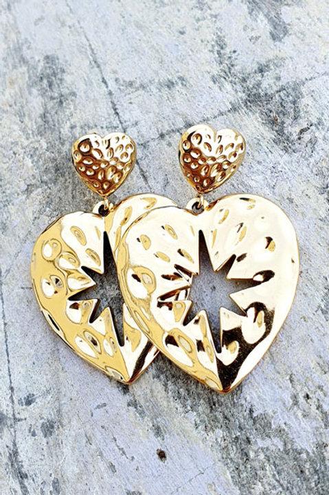 BO Heart - Gold