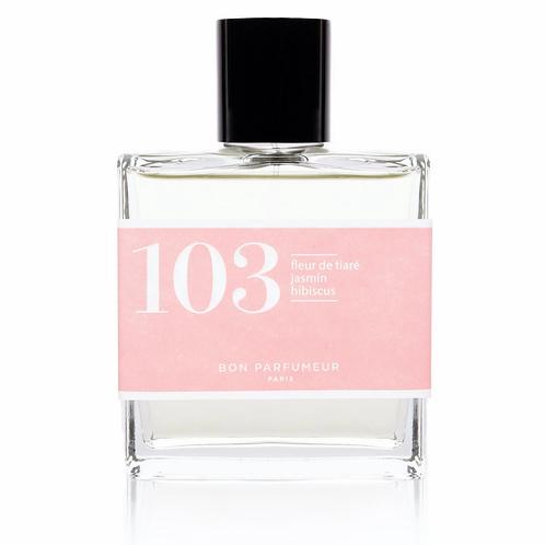 Eau de Parfum : 103 - Fleur de tiaré / Jasmin / Hibiscus