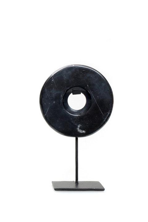 Disque Marbre - Noir - PM