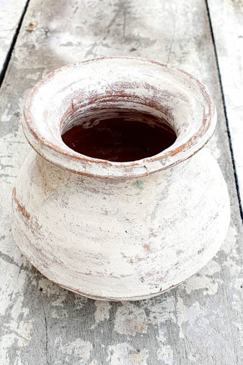 Ancien Petit Pot à Huile