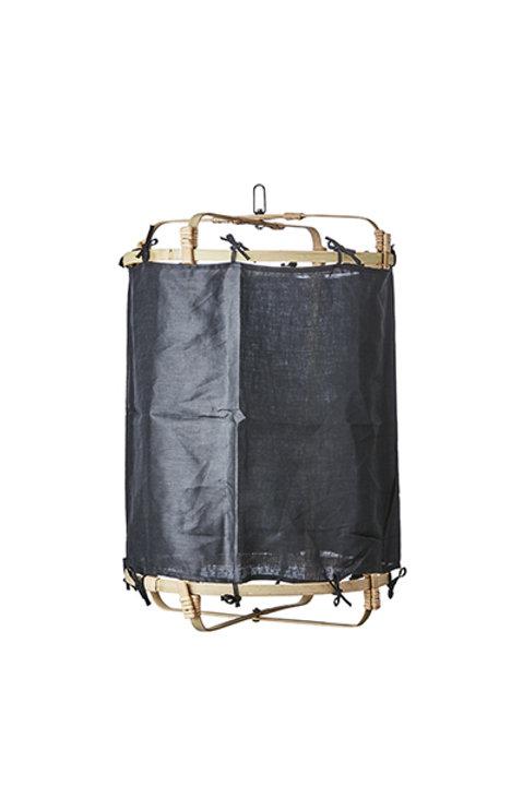 Lanterne Bambou Lin - Black - M