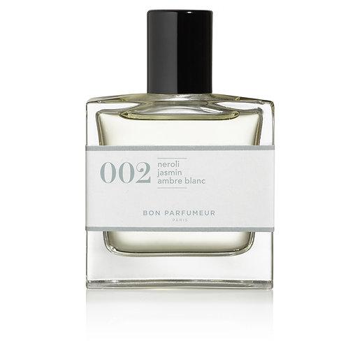 Eau de Parfum : 002 - Néroli / Jasmin / Ambre blanc